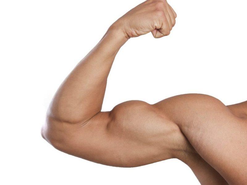 varicose biceps fotografie